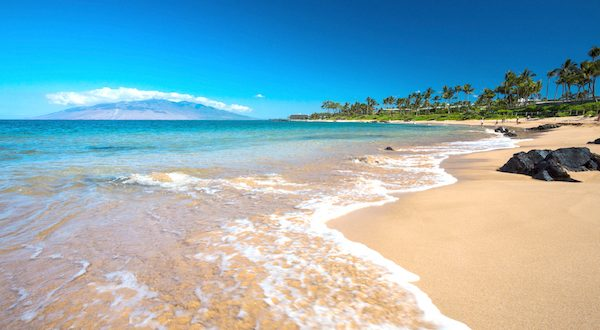 Gorgeous South Maui Beach
