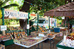 explore maui farmers market