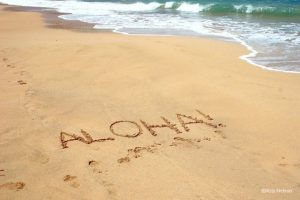 aloha spirit sandy beach
