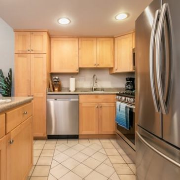 Stainless appliances chefs kitchen