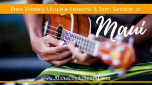 Free Weekly Ukulele Lessons Jam Session In Maui
