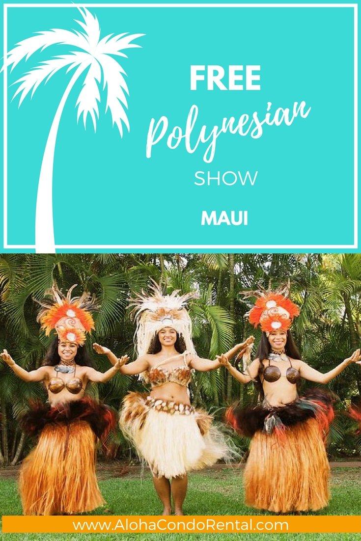 Free Polynesian Show | Put On By The Shops At Wailea - www.AlohaCondoRental.com Vacation Rental Maui