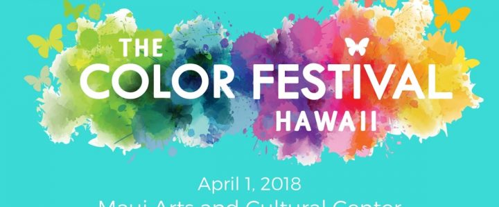 Color Festival Maui Hawaii