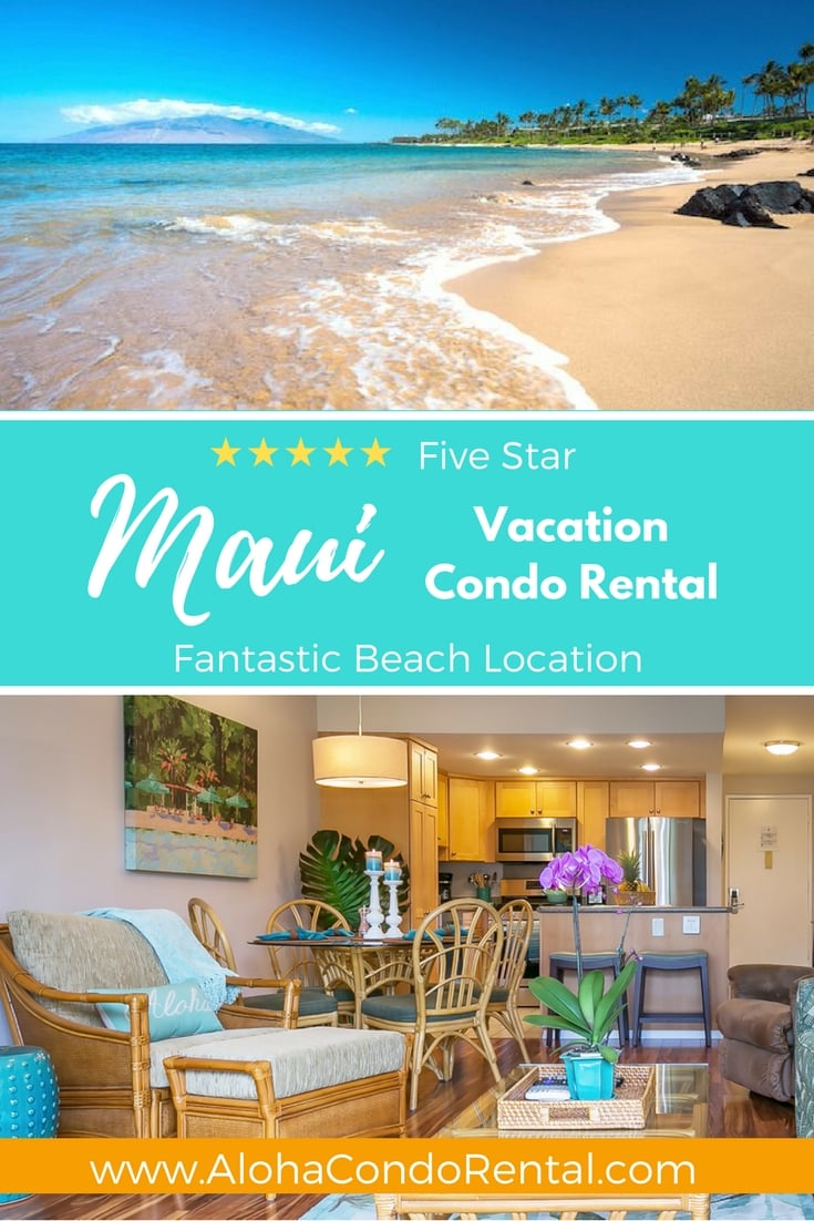 Where To Stay Maui  - www.AlohaCondoRental.com Vacation Rental Maui