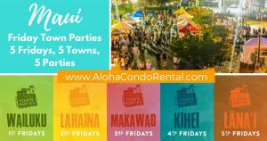 Maui Friday Town Party
