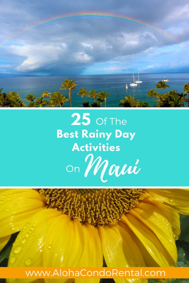 Best Rainy Day Activities On Maui - www.AlohaCondoRental.com Vacation Rental Maui