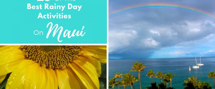 25 Of The Best Rainy Day Activities On Maui