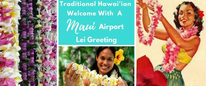 Maui Airport Lei Greeting