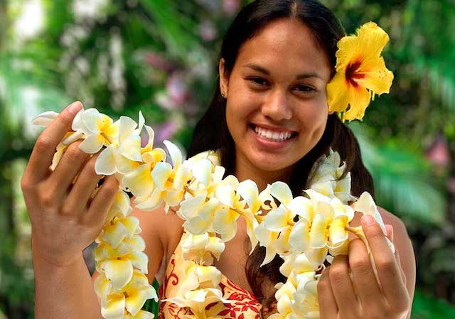 Experience a traditional hawaiian welcome with a maui airport lei maui airport lei greeting m4hsunfo