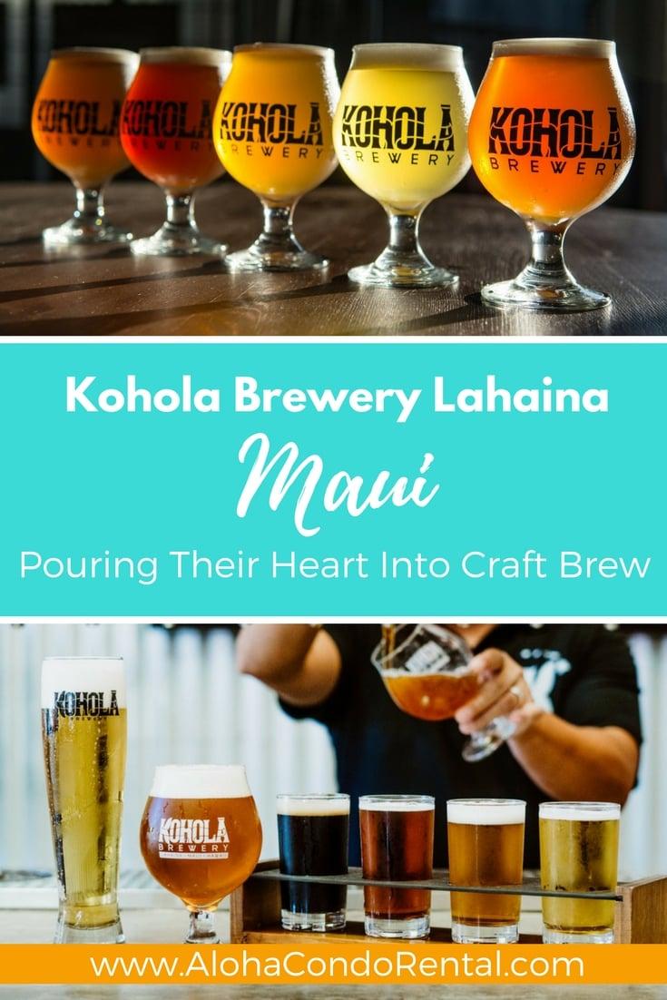 Kohola Brewery Lahaina - www.AlohaCondoRental.com Vacation Rental Maui