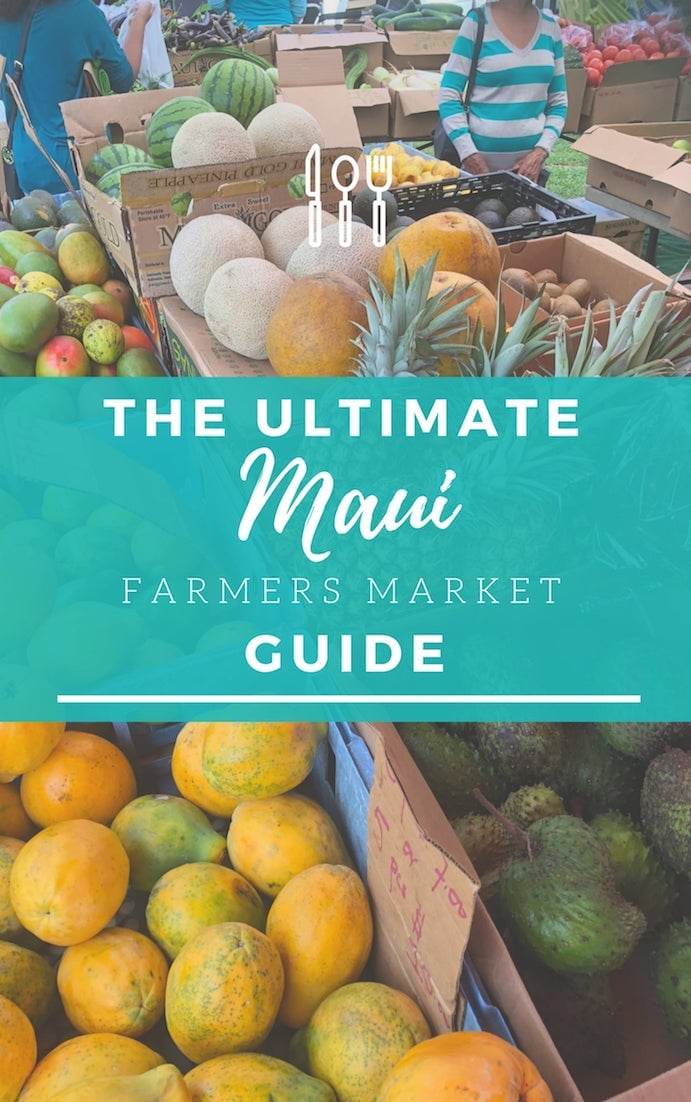 Maui Farmers Markets | Your Ulitmate Island Guide & Map - www.AlohaCondoRental.com Vacation Rental Maui