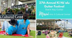 slack key guitar festival Maui