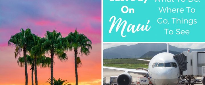 Last Day On Maui? What To Do, Where To Go, Things To See