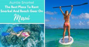 Best snorkel rental maui