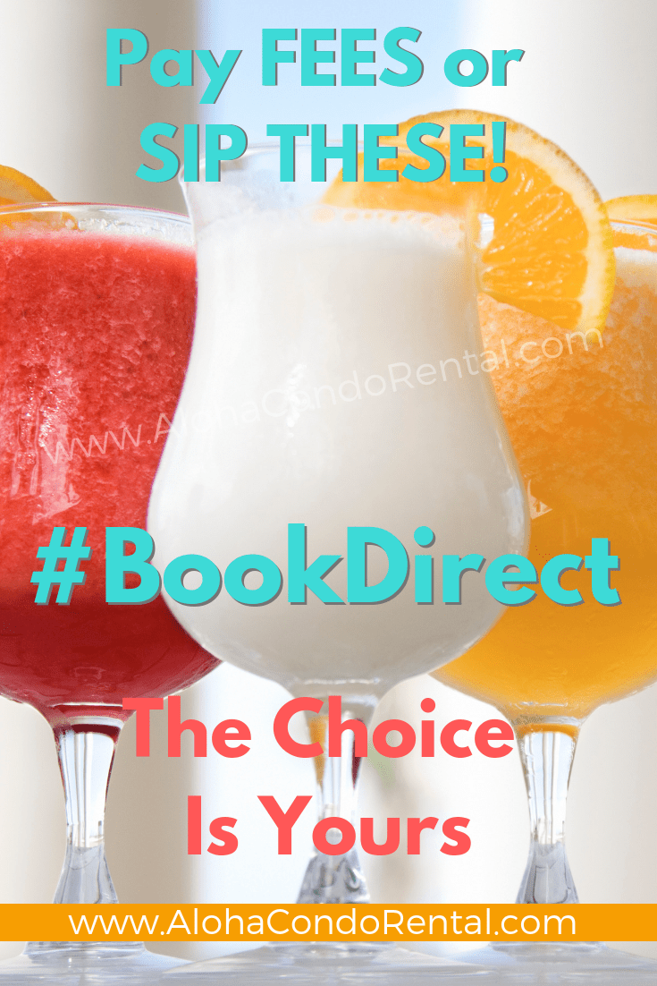Sip Cocktails With The Money You Save When You #BookDirect For Your Vacation Rental