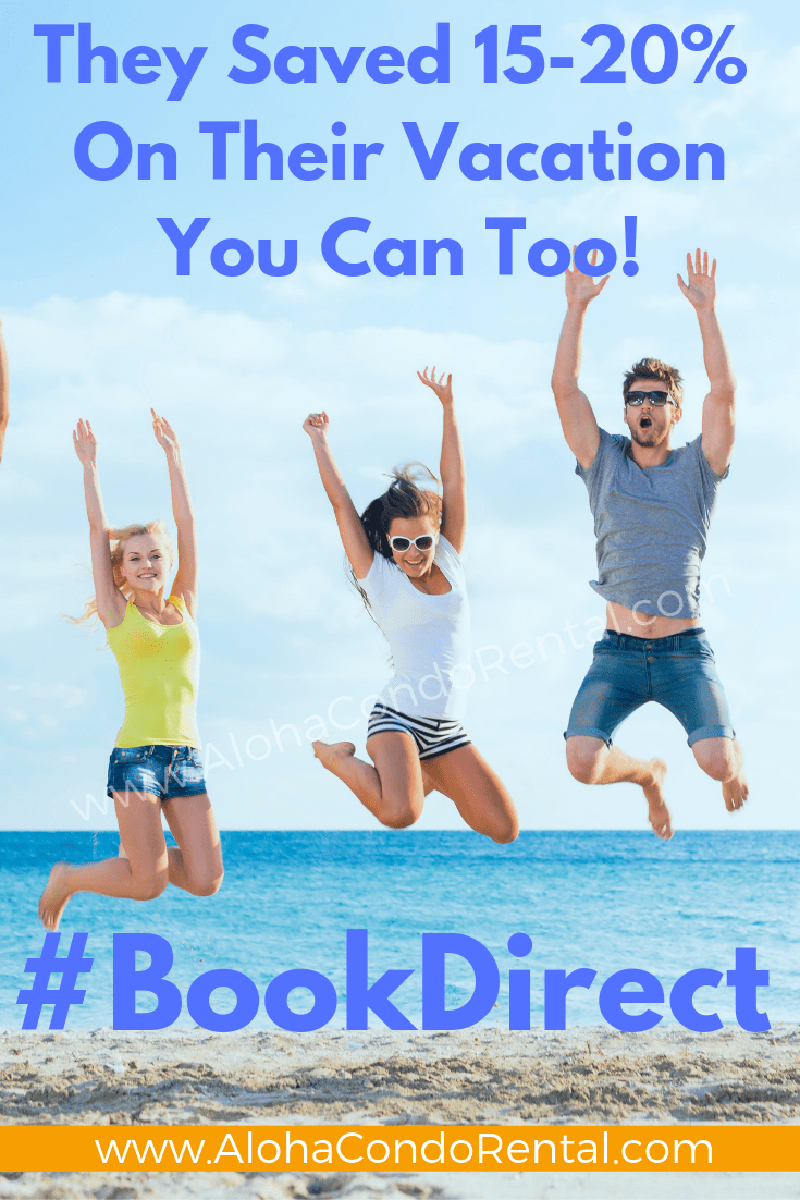 They Are Jumping For Joy Because They Didn't Pay Booking Fees- Book Your Next Vacation Rental Direct With Owners #BookDirect