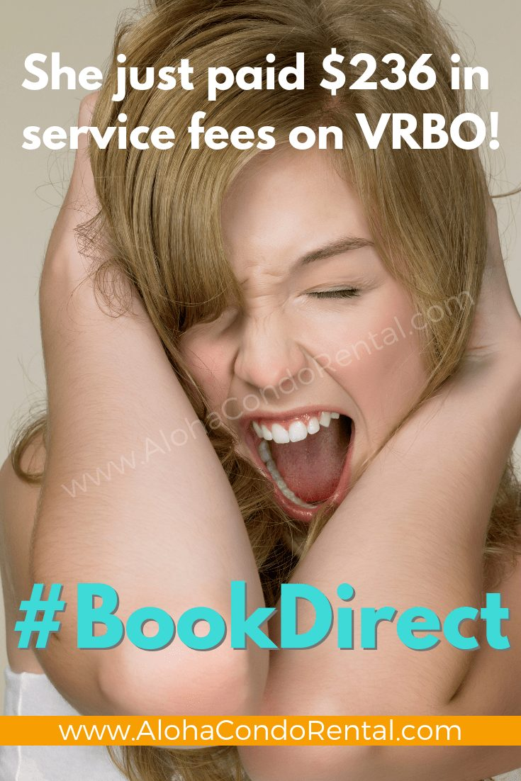She Screams Because She Paid Booking Fees With VRBO #BookDirect